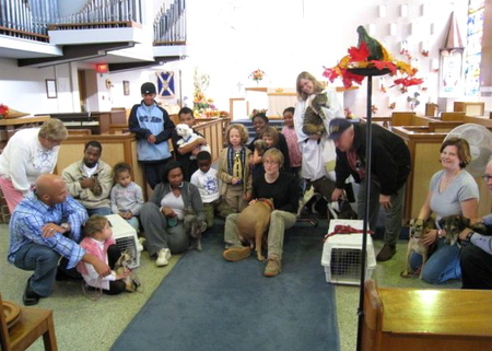 Bring Your Pet to Church!
