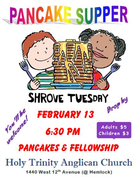 Pancake Supper with Rio Samaya Band