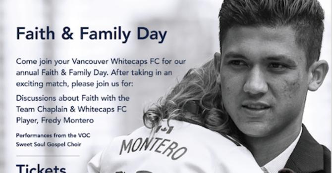 Whitecaps Faith & Family Day