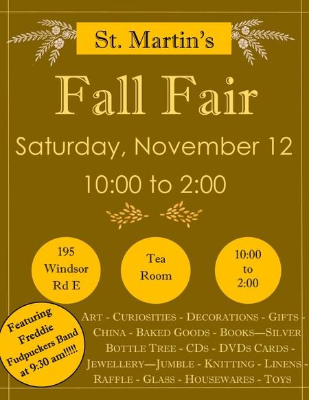St. Martin's Fall Fair