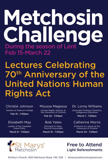 Metchosin Challenge for Lent