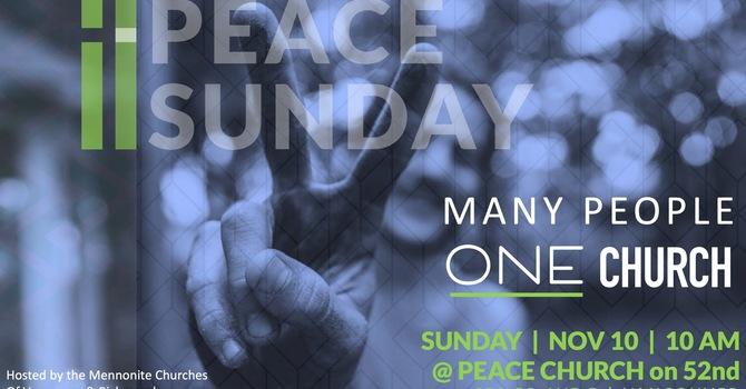Peace Sunday - Joint Service