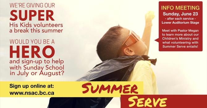 Summer Serve Info Meeting