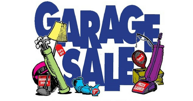 St. Andrew's & All Saints Garage Sale