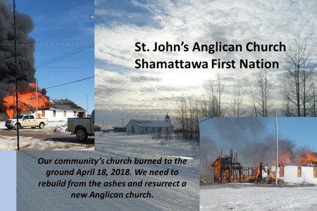 Gofundme Page for Northern Manitoba Church