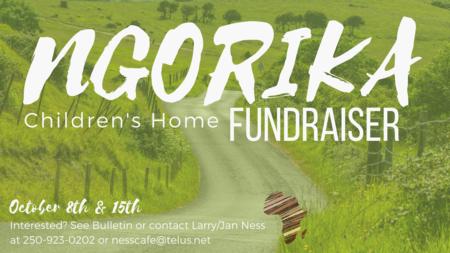 Ngorika Children's Home Fundraiser