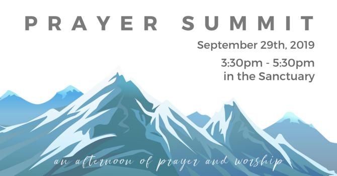 祈禱高峰會 Prayer Summit