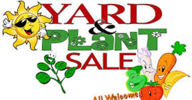 YARD & GARDEN SALE