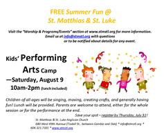 Stmstl kids performing arts camp