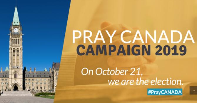 Pray Canada Campaign