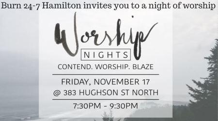 Burn 24-7 Hamilton Worship