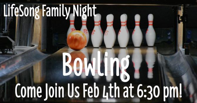 Church Family Night - Bowling Night