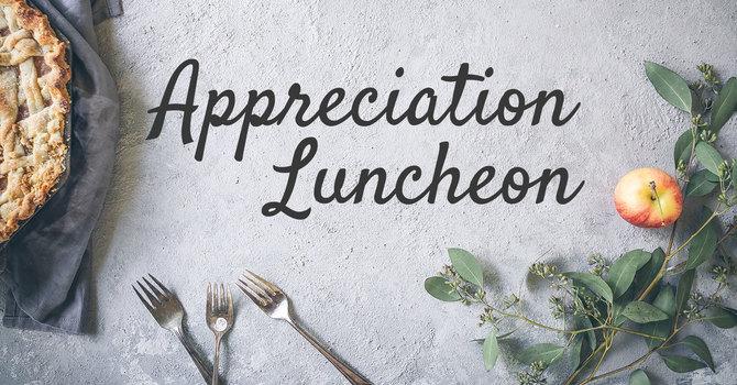 Church Appreciation Luncheon