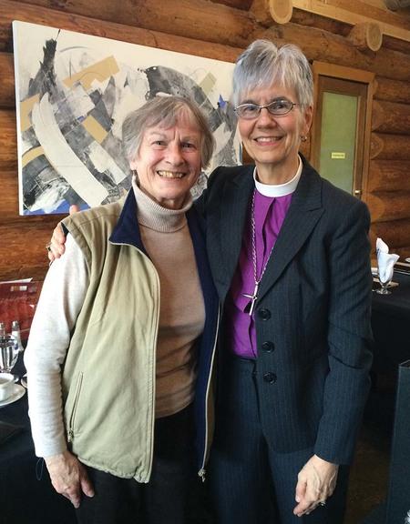 Bishop and Métis Elder Meet for Tea in Mission