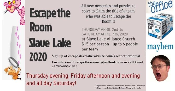 Escape the Room Slave Lake 2020