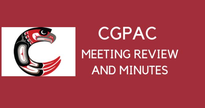 CGPAC Meeting October  2019