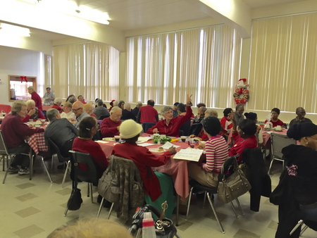 Christmas Neighbourhood Lunch a great success!
