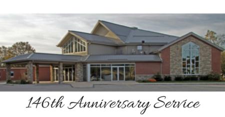 146th Anniversary Service
