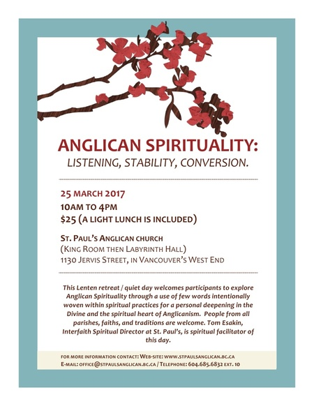 Anglican Spirituality