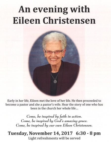 An Evening with Eileen Christensen