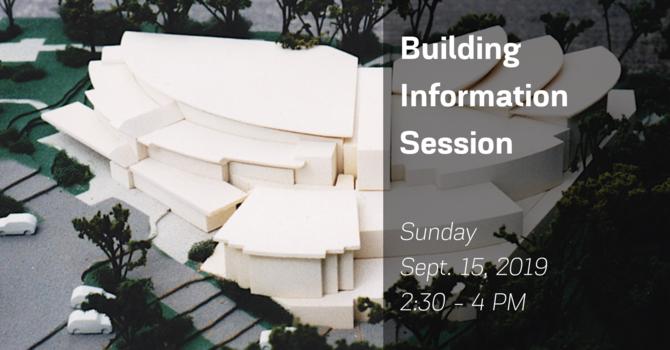 建築計劃發佈會 Building Information Session