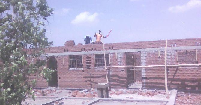 Progress on the Teachers' Duplex  & Classroom Block in Dzuwa image