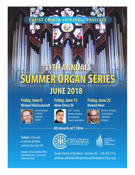 Summer Organ Recitals