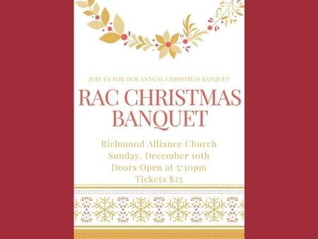 RAC Christmas Dinner