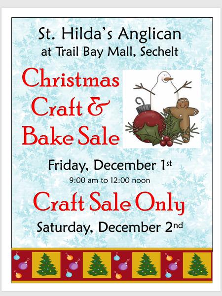 ACW Christmas Bake and Craft Sale