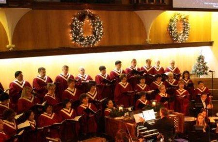 Concert Choir Rehearsal - CHRISTMAS CONCERT