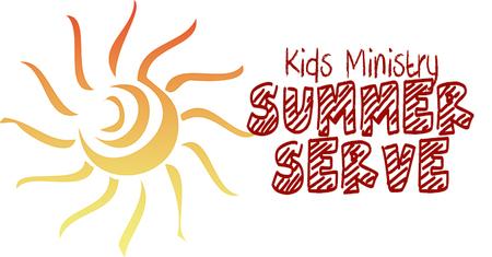 Kids Ministry Summer Serve