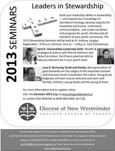 Stewardship promo