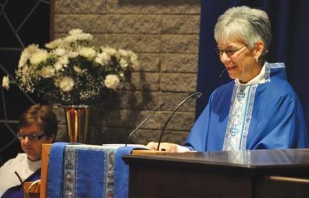 Bishop Melissa to Visit St. Laurence