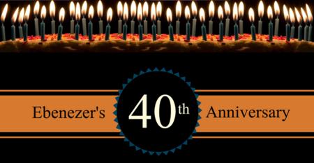 Ebenezer's 40th Anniversary Celebrtation!