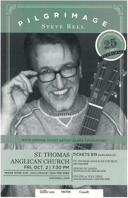 Steve Bell Concert in Chilliwack