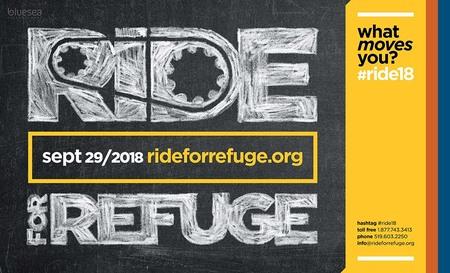 PWRDF Ride for Refuge September 29