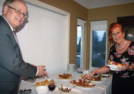 Parish Home Event Raises $1200 for PWRDF