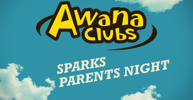 Awana Club: Sparks Parents Night