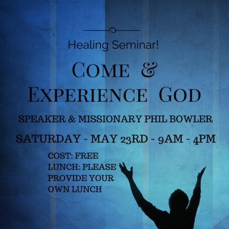 Healing Seminar