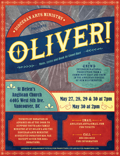 Oliver musical poster web
