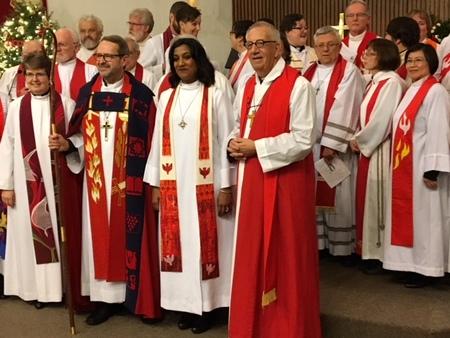 Our New Rector Aneeta Saroop's Ordination