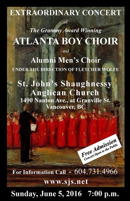 Atlanta Boy Choir Concert