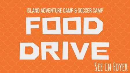 IAC & SOCCER CAMP FOOD DRIVE