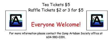 Camp Artaban Cream Tea