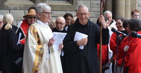 Bishop Logan celebrates 9.15 and 11.00 Eucharists