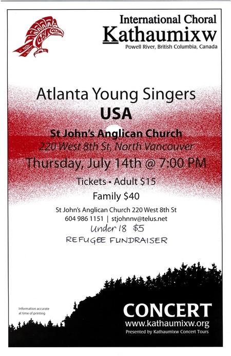 Atlanta Young Singers Concert
