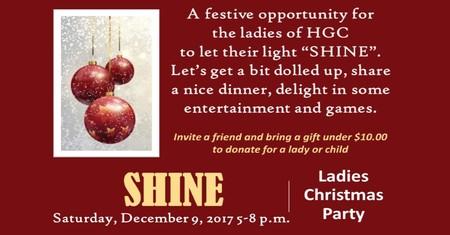 Ladies SHINE Christmas Party