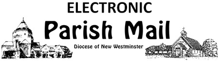 Deadline for Mar 23 Parish Mail