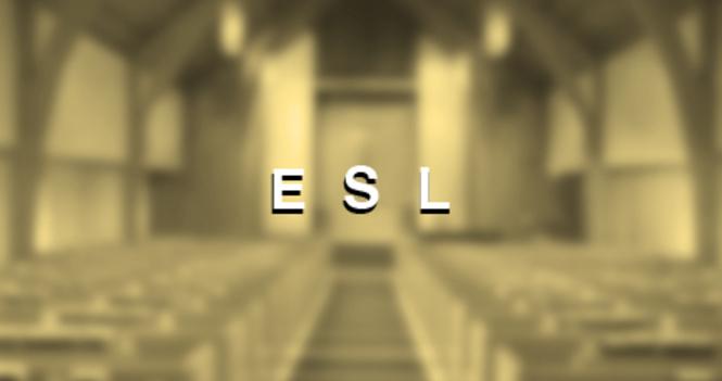 ESL Spring Term  成人英文学校 春季班