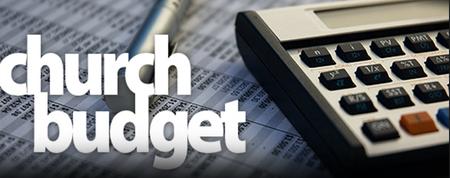 Church Budget Meeting